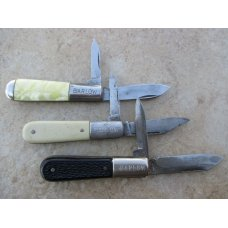Three Barlow Knives