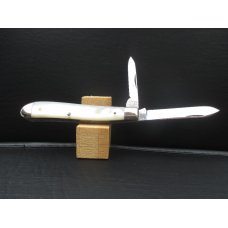 Terrrier Mother Of Pearl Dogleg Jack Knife