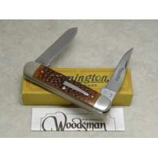 Remington Bullet 1985 R4353 Delrin Woodsman Knife in Box