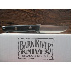 Bark River Gunny   Black Micarta Handle
