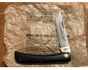 CASE SODBUSTER 7 DOT 1973 unused, uncarried, unsharpened, cracked handle, crisp blade etching