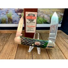 Schatt and Morgan Deep Green Bone Canoe Jack From the 6th Anniversary Series