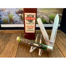 Schatt and Morgan Deep Green Bone Doctors Knife From the 6th Anniversary Series