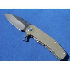 Medford Knife and Tool Deployment Line 187 F Flipper 3375quot  D2 Plain Blade OD G10