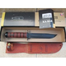 KA-BAR USMC Fighting Knife   New In Box