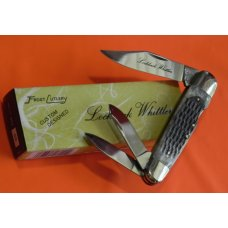 Vintage Frost Lock Back Whittler (Custom Design Series) Knife w/ Jigged Bone Handles -Japan -NOS