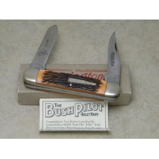 "Remington Bullet 1993 R4356 Delrin ""Ellett Brothers 60th Anniversary"" Bush Pilot Knife in Box"