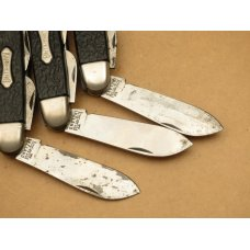 Imperial Ireland KAMP KING Scout Knives Lot of Three