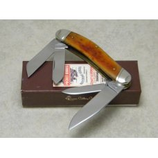 Schatt & Morgan Keystone Series XIX October Harvest Bone 044160 Sowbelly Knife in Box c.2009