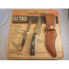 Schrade Old Timer SGS-1CP Gift Set USA Mint