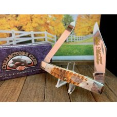 Case CCC Life Member Knife For 2007 Moose in Honey Brown Bone