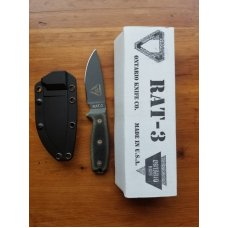 ONTARIO RAT 3 rare D2 blade discontinued model