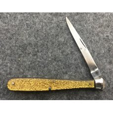 Goldstone BASEBALL BAT Figural Knife