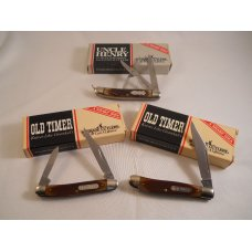 Schrade Old Timer & Uncle Henry Lot USA Mint