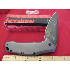 Kershaw Damascus Link Model # 1776 GRYDAM