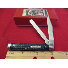 Robeson MasterCraft Royal Blue Bone Doctors Knife pattern # 66