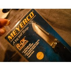 MEYERCO  Jeff Hall amp Blackie Collins design A-OK  ASSISTED OPENING LINER-LOCK FOLDER NOSNIB