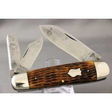 W R CASE amp SON WHITTLER Perfect Jigged Bone Handles 1902-1903 Beautiful and Rare Knife