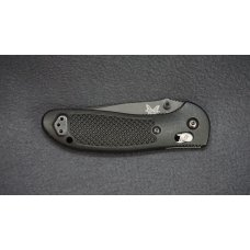 + BENCHMADE USA GRIPTILIAN 551 MEL PARDUE W/BLACK COMBO BLADE - RECONDITIONED +