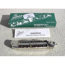 BRAND NEW HUBERTUS SOLINGEN GERMANY 10-CM GENUINE STAG AUTO LEVER LOCK KNIFE