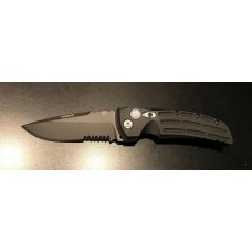 NEW - Hogue EX-A01 Tactical Serrated Folding-Blade Pocket Knife