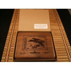 SCHRADE USA LIMITED EDITION US DEPARTMENT OF INTERIOR COMMEMORATIVE 2002 DUCK STAMP MINT KNIFE SET
