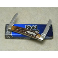 Rigid USA (Made by Camillus) Delrin RG84 2-Blade Congress Knife in Box