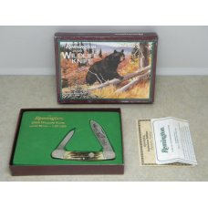 Remington USA Stag Canoe 2000 Wildlife Knife in Box