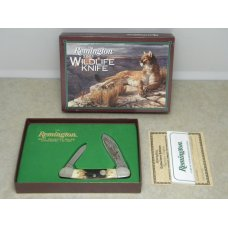 Remington USA Stag Canoe 2001 Wildlife Knife in Box