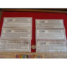 Case Classic Certificates of Authentication Buyers Choice certificates onlyno knife