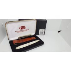 CASE XX USA 6100 Natural Smooth Bone 2012  MELON TESTER Case Knife