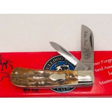 Bulldog Prototype Exotic Fossil 2 Blade Lil Cotton MINT Cond. w/Box