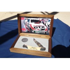 Limited Edtion MAC TOOLS 0662 JOHN FORCE FUNNY CAR CHAMPION Bear amp Sons KNIFE amp COIN AUTOGRAPHED