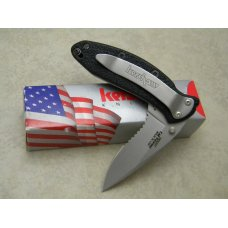 Kershaw USA Scallion Easy Open Linerlock Knife in Box
