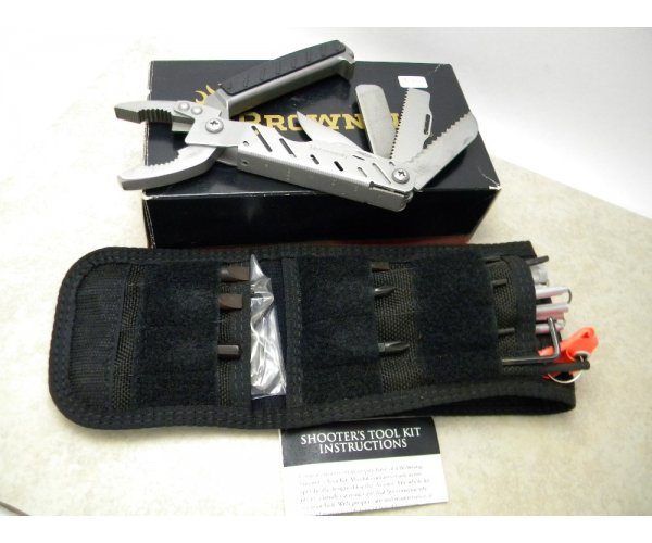 Browning USA Model 400 Shooter's Tool Kit Multi Tool Knife in Box