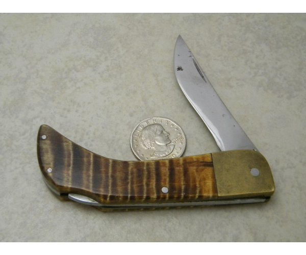 JPM Custom Made Horn Folding Knife