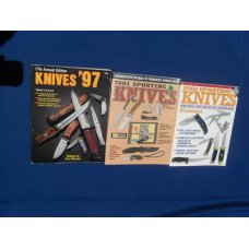 17th Annual adtion Kinves 97 Knife Colectors book   Sporting Knives 2002 amp Sporting Knives 2004