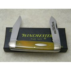 Winchester Trademark USA 1988 Smooth Yellow Bone 2991 Moose Knife in Box
