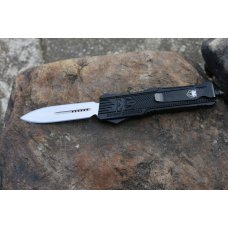 COBRATEC OTF DAGGER NOT SERRATED LARGE CTK-1 BLACK