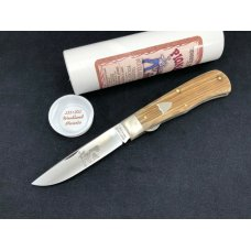 Great Eastern Tidioute Liner Lock 235120L Woodland Micarta GEC NIT