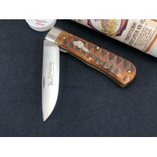 Great Eastern Beaver Tail Tidioute Liner Lock 235120L Brazilian Cherry GEC NIT