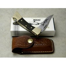 Case XX Stainless USA 1970's Wood P158-LSSP Mako Lockback Knife in Box