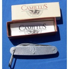 Camillus 1990 US Military Metal Utility Camp Knife NIB Free Shipping