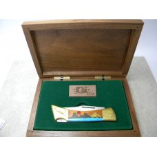 Case XX SS USA Hammerhead Buffalo Hunter 554 59L Lockback Knife in Box 1991