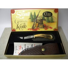 Case  XX USA 1979 Stag 523-3 1/4 Small Game Fixed Blade Sheath Knife in Box w/Sheath Never Opened