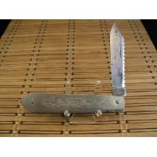 GEORGE SCHRADE KNIFE CO USA VIN 1928-46 HUNTING amp FISHING LOCKBACK STAINLESS STEEL POCKET KNIFE