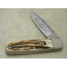Hen & Rooster Bertram Cutlery Solingen Germany Stag 1982 World's Fair Knife 1 of 800