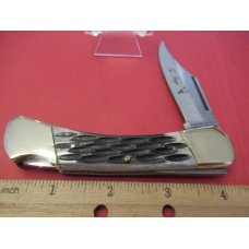 Parker Cut Co Eagle Brand Bone Handle Lock Back
