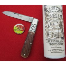 GEC Tidioute Cutlery Tom's Choice Ancient Sawyer Barlow Knife. Charlie Campagna SFO. ..........(625)