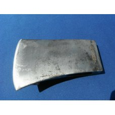 CRAFTSMAN REG TRADEMARK AXE HEAD VINTAGE LOGGING CAMP LOG CABIN.  MADE IN USA!  The edge is sharp!!!